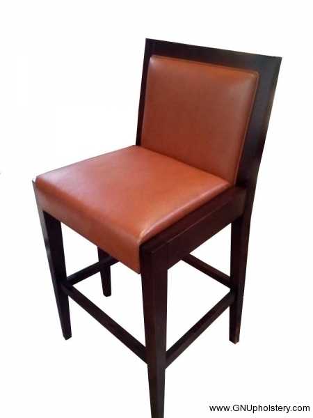 Custom-Dinning-Chair-Orange-by-GN-Upholstery-Los-Angeles