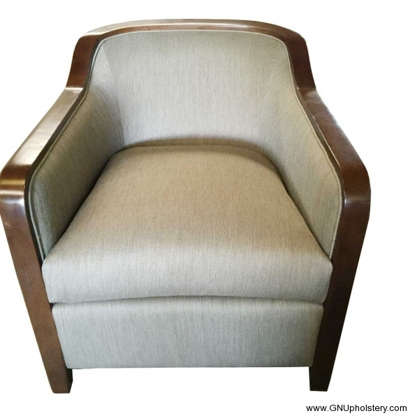 Custom-Round-Chair-After-Reupholstered-by-GN-Upholstery-Los-Angeles-front