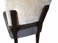 Custom-Dinning-Chair-White-Brown-by-GN-Upholstery-Los-Angeles-back