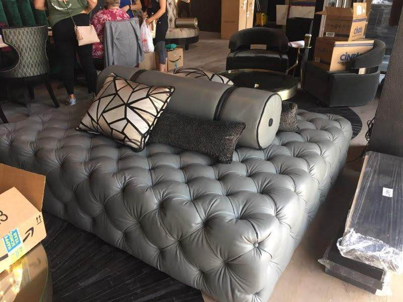 Custom-Huge-Tufted-Grey-Ottoman-by-GN-Upholstery-Los-Angeles